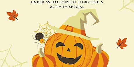 Halloween Storytime for Under 5s tickets