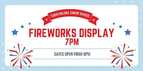 Turnfurlong Junior Fireworks Evening tickets