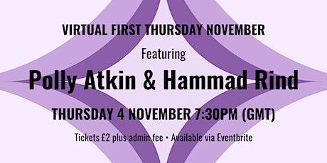 Virtual First Thursday November tickets