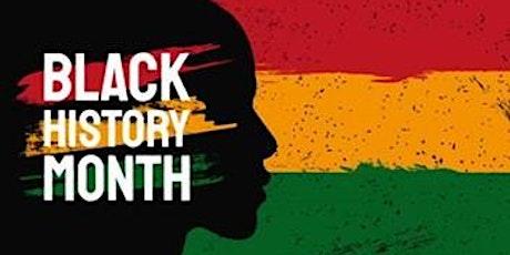 Black History Month workshop tickets