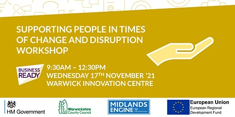 Supporting People in times of Change and Disruption Workshop tickets