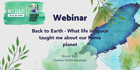 Back to Earth - what life in space taught me about our home planet tickets