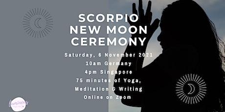 New Moon in Scorpio Ceremony: Manifesting Circle tickets