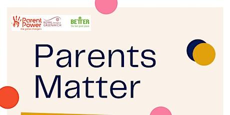 Parent Well-Being Workshop tickets