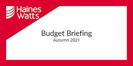 Haines Watts Autumn Budget Briefing - Berkhamsted tickets
