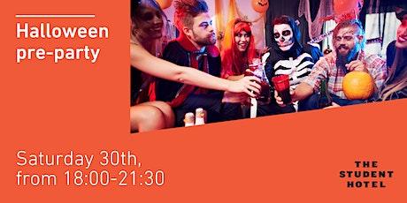 Halloween pre-party billets