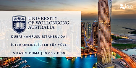 Avustralya Wollongong Üniversitesi Dubai Kampüs yetkilisi İstanbul'da tickets