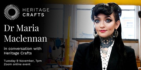 Dr Maria Maclennan in Conversation with Heritage Crafts tickets