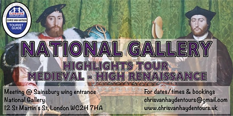 National Gallery Highlights tour - Medieval to High Renaissance tickets