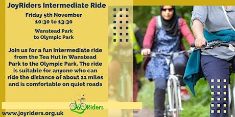 Women's Intermediate Bike Ride Wanstead Park to Olympic Park tickets