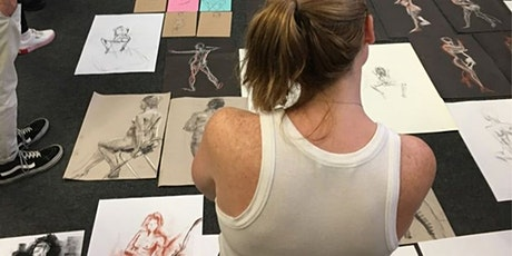 In Person Life Drawing - TAUGHT CLASS tickets