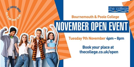 November College Open Event 2021 - Bournemouth tickets