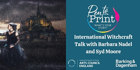 Pen to Print: International Witchcraft Talk with Barbara Nadel & Syd Moore tickets