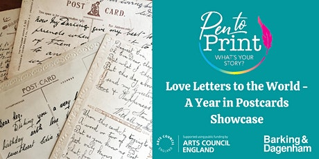 Pen to Print: Love Letters to the World - A Year in Postcards Showcase tickets