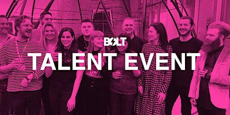 Bolt Digital - Graduate Talent Event - Paid Media and Creative tickets