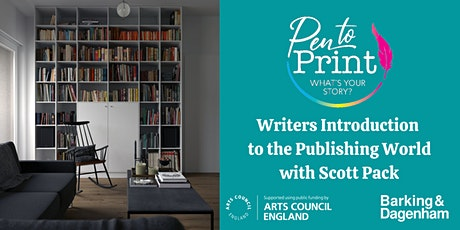 Pen to Print: Writer's Introduction to the Publishing World with Scott Pack tickets