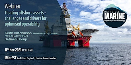 WEBINAR: Floating offshore assets- challenges & drivers tickets