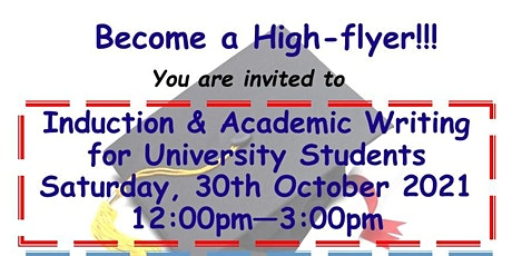 Induction & Academic Writing  for University Students tickets