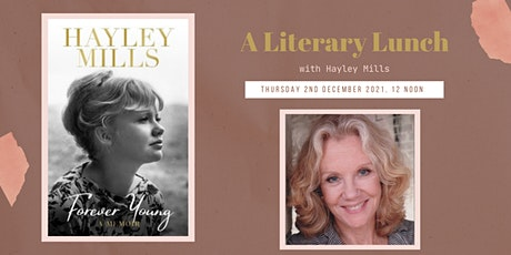 A Literary Lunch with Hayley Mills tickets