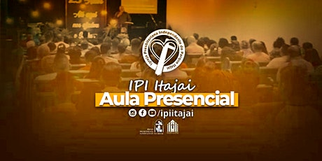 AULA EBD ADULTOS | IPI Itajaí ingressos