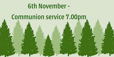 Newcastle Presbyterian Church Saturday Communion Service 6th Nov tickets