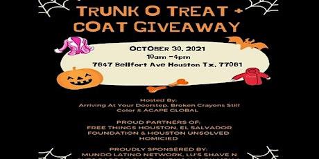 Trunk O Treat & Coat Giveaway tickets