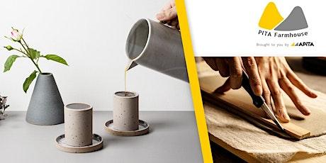 PITA Farmhouse X Waka Artisans 意式濃縮咖啡杯套裝工作坊 tickets