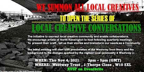 Local Creative Conversations tickets