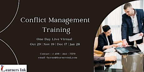 Conflict Management Training - Brant, ON tickets