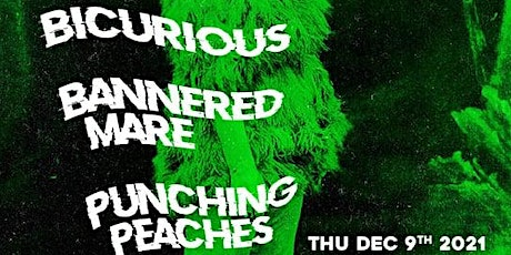 A MODERN MOVEMENT #4-BICURIOUS,BANNERED MARE,PUNCHING PEACHES,STATIC VISION tickets
