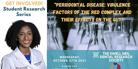 ENDRS: October Student Research Series feat. Student-Dr. CyVanie Ramkelawan tickets