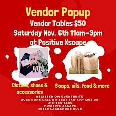 Vendor Pop Up  Event - Vendor Registration tickets