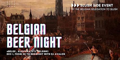 Slush Side Event: Belgian Beer Night tickets