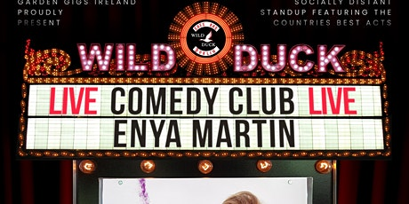 Wild Duck Comedy Club: Giz a Laugh's Enya Martin & Special Guests! (6:30PM) tickets