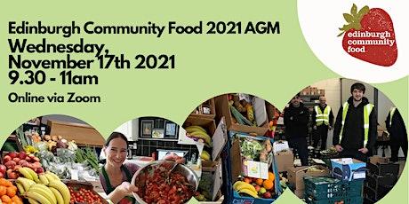Edinburgh Community Food AGM 2021 tickets