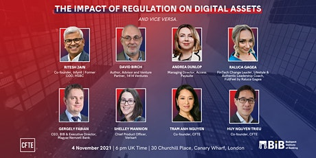The Impact of Regulation on Digital Assets   CFTE Physical Event tickets