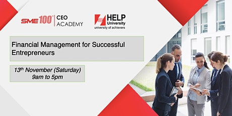 Financial Management for Successful Entrepreneurs tickets