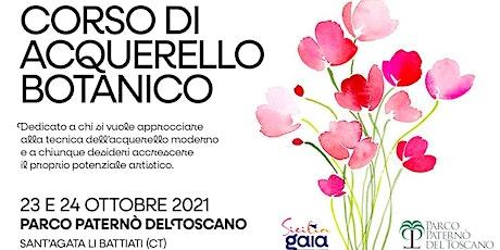 Corso di Acquerello Botanico tickets