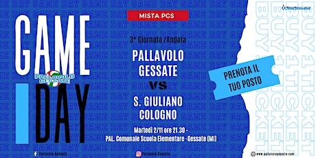 CAMPIONATO MISTA PGS - Pallavolo Gessate vs S. Giuliano Cologno biglietti