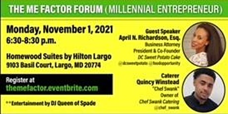 The Millennial Entrepreneur Factor hosted by Barbara Holt Streeter tickets