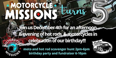 Motorcycle Missions Scavenger Hunt Fundraiser tickets