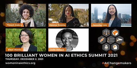 100 Brilliant Women in AI Ethics - Annual Summit 2021 billets