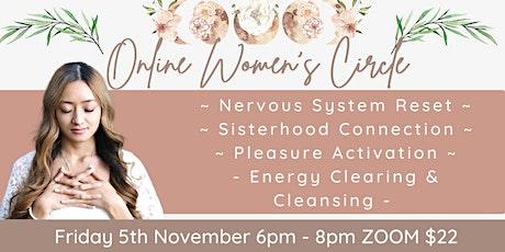Online Women's Circle ( New Moon ) tickets