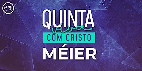 Quinta Viva com Cristo 21 de  outubro | Méier ingressos
