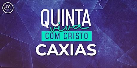 Quinta Viva com Cristo 21 de  outubro | Caxias ingressos