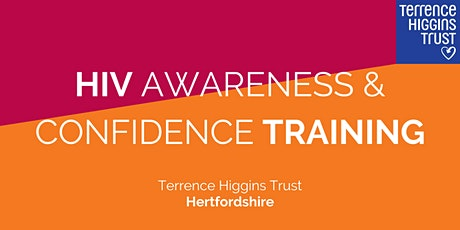 HIV Confidence & Awareness Training (Hertfordshire) tickets