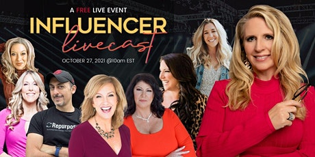 Influencer LIVECAST - FREE Event with A-List Speakers On Personal Branding tickets