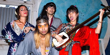 The Psychedelic and J-Pop Halloween Spooktacular with JAGUAR NO ME Tickets