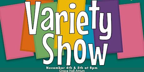 Cabrini Theatre's Variety Show - November 5th tickets