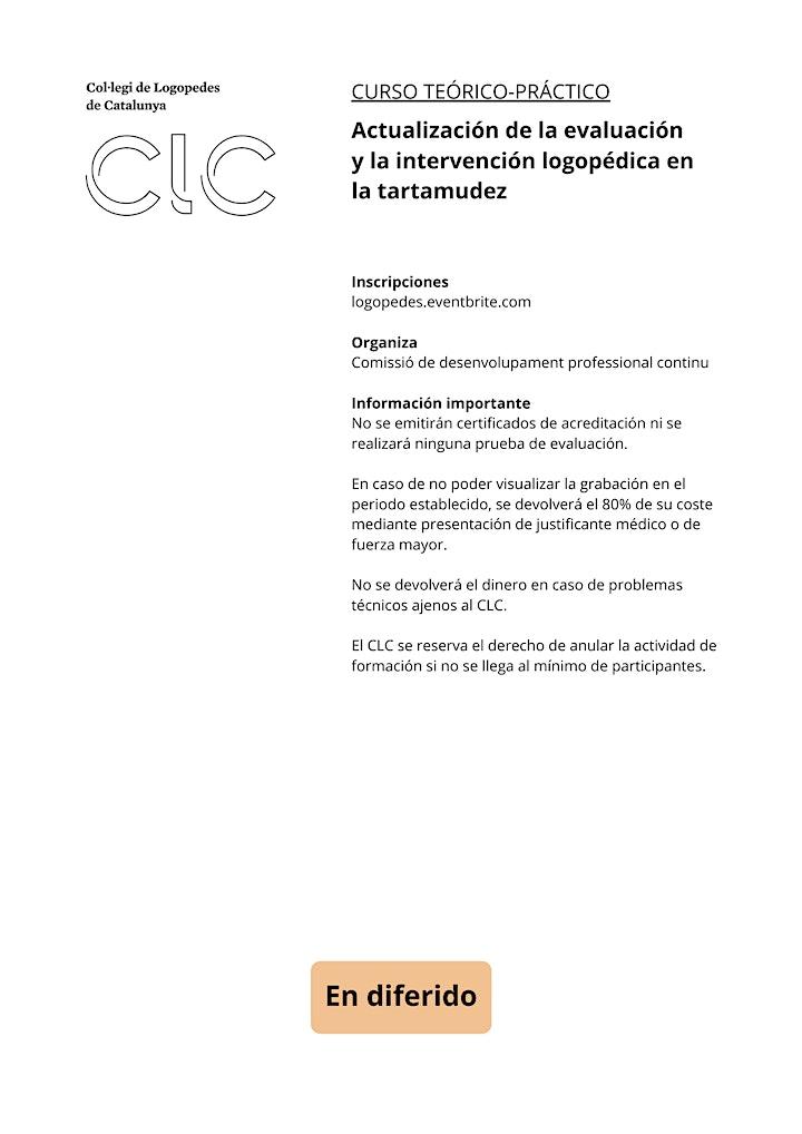 Imagen de Actualización de la eval. y la interv. logopédica en la tartamudez(DIFERIF)